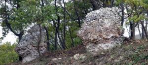 mura saracene valle del treste